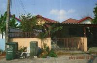 บ้านแฝดหลุดจำนอง ธ.ธนาคารอาคารสงเคราะห์ ปทุมธานี ธัญบุรี บึงสนั่น(คลองฝั่งใต้)
